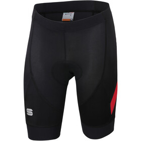 Sportful Neo Korte Broek Heren, black/red